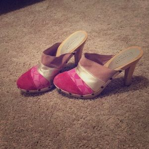 Coach Clogs/Heels